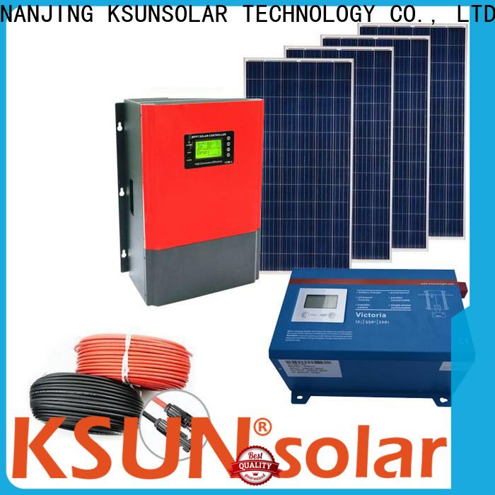 KSUNSOLAR High-quality solar product company manufacturers for Energy saving