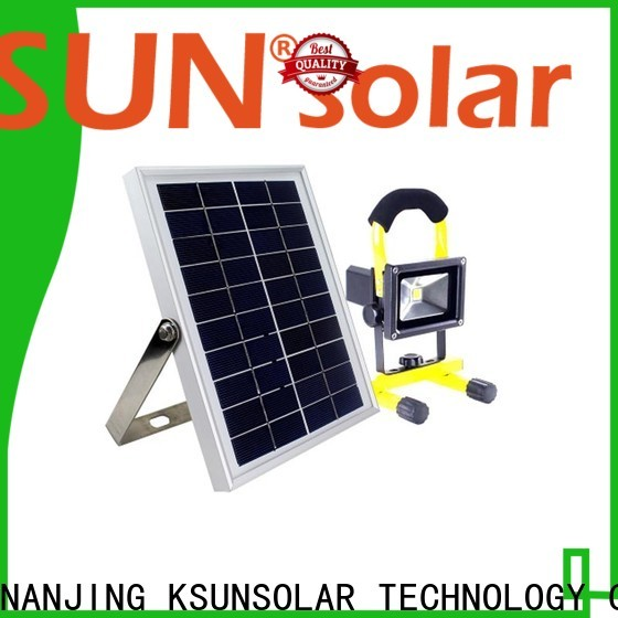 KSUNSOLAR High-quality high power solar led flood light Suppliers for powered by