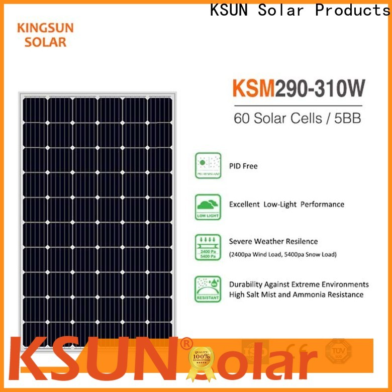 KSUNSOLAR Latest solar module prices manufacturers for powered by