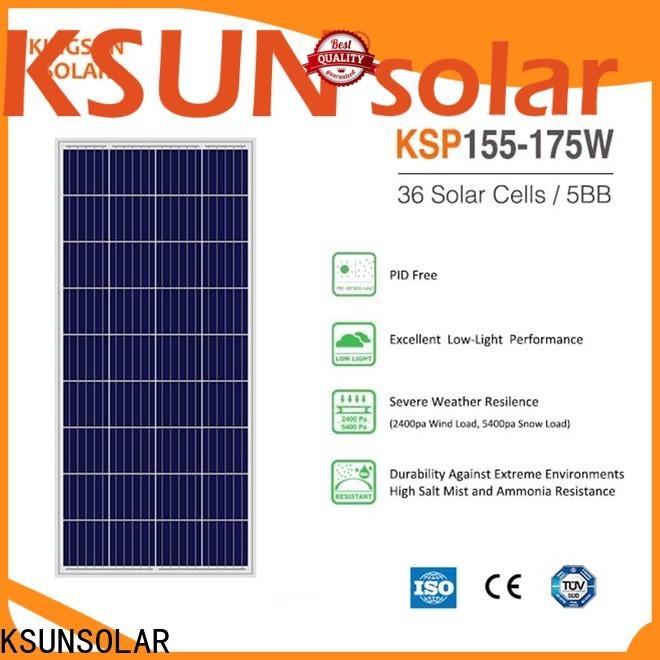 KSUNSOLAR wholesale solar panels for Power generation