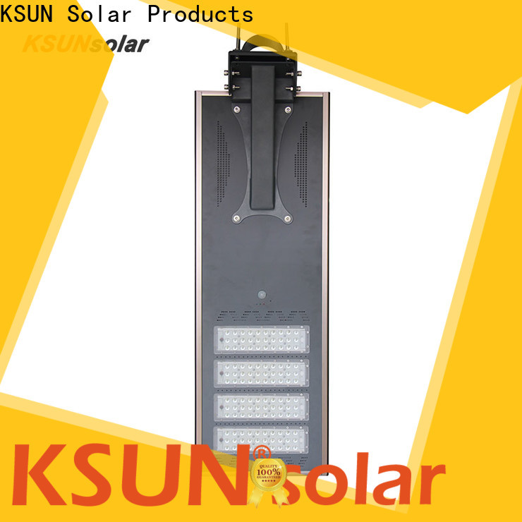 KSUNSOLAR solar street lamp Supply For photovoltaic power generation