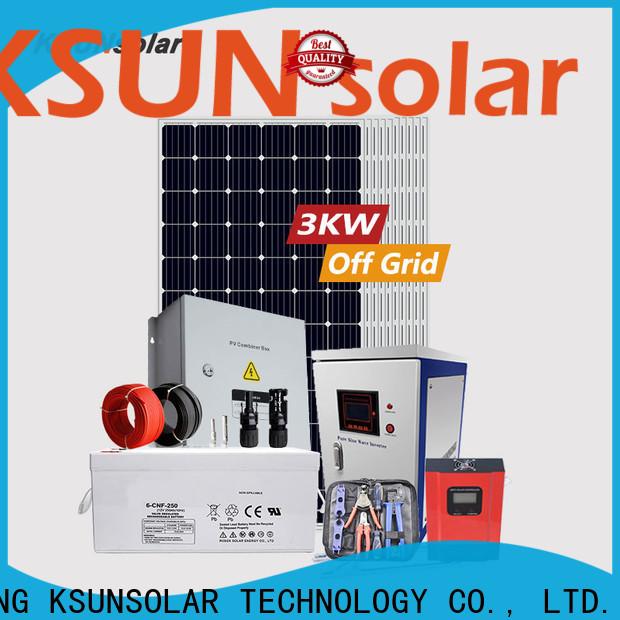 KSUNSOLAR solar panels for off grid home Supply for Power generation