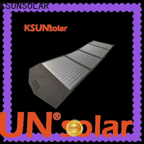 KSUNSOLAR portable solar charger for Power generation