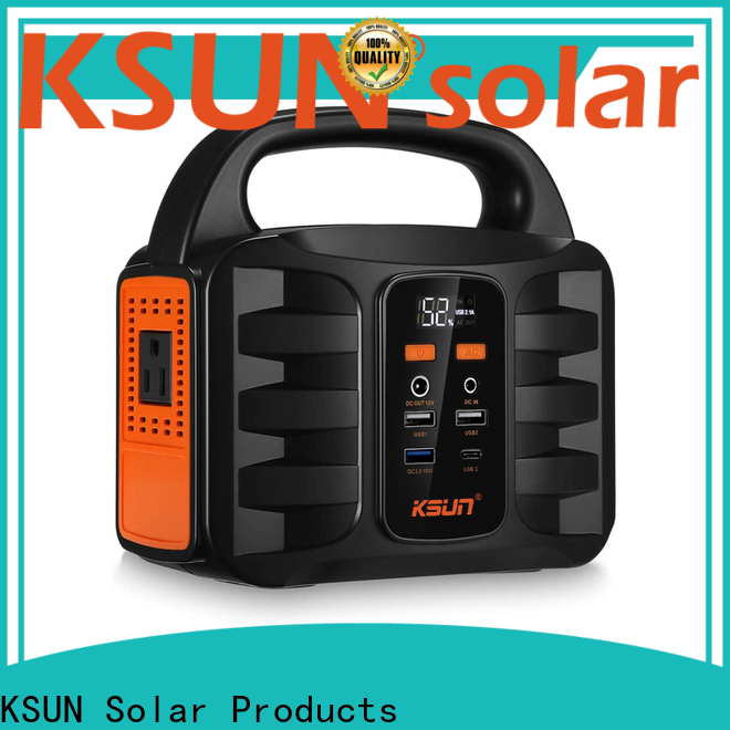 KSUNSOLAR Top rechargeable portable power supply Suppliers for powered by