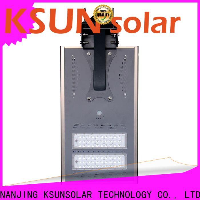 KSUNSOLAR Latest solar powered street light for business for Power generation