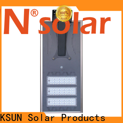 Latest solar street light made in china company for powered by