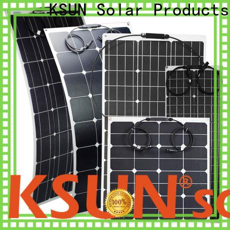KSUNSOLAR High-quality flexible solar panels sale Suppliers for Power generation