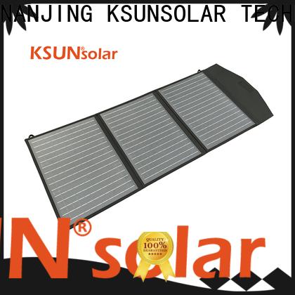 KSUNSOLAR New foldable solar panel manufacturers For photovoltaic power generation