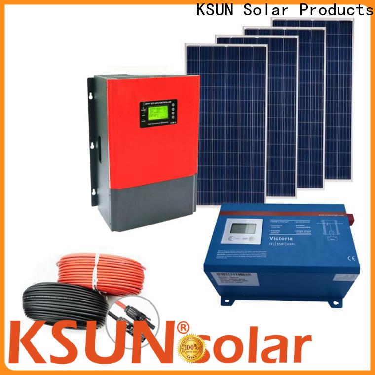 KSUNSOLAR solar equipment for sale for Environmental protection