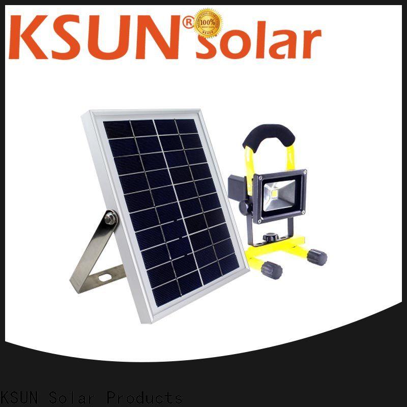 KSUNSOLAR best solar flood lights for Environmental protection