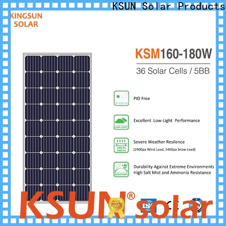 Top mono silicon solar panels Suppliers For photovoltaic power generation