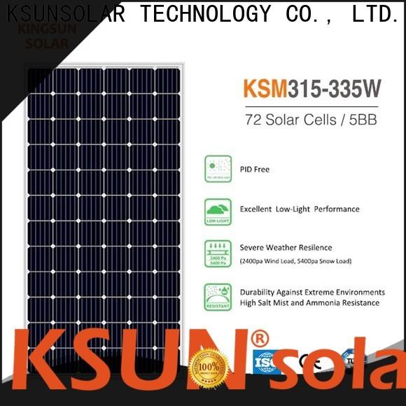 KSUNSOLAR monocrystalline solar panel manufacturers For photovoltaic power generation