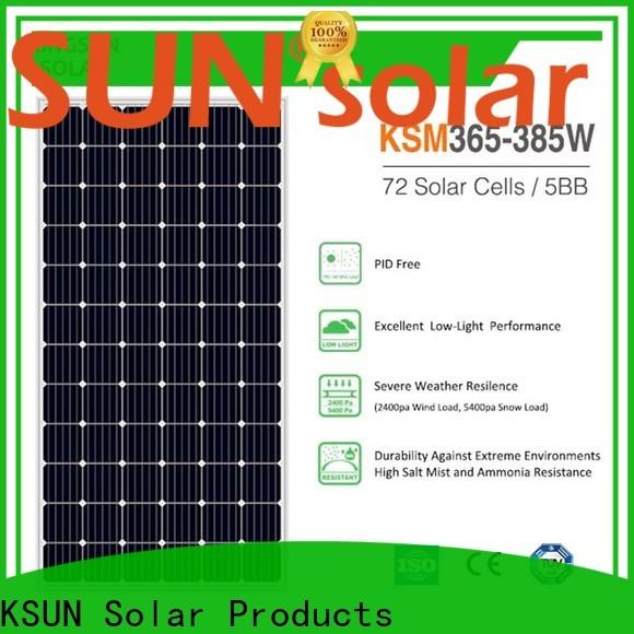 Top monocrystalline solar panel suppliers factory for Energy saving