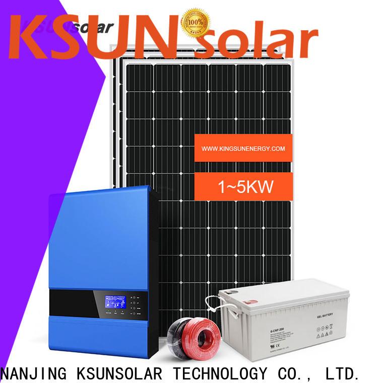 KSUNSOLAR High-quality best off grid solar panels Supply for Power generation