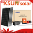 KSUNSOLAR High-quality solar power energy system factory for powered by