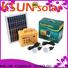 KSUNSOLAR portable wind power generator factory for Energy saving