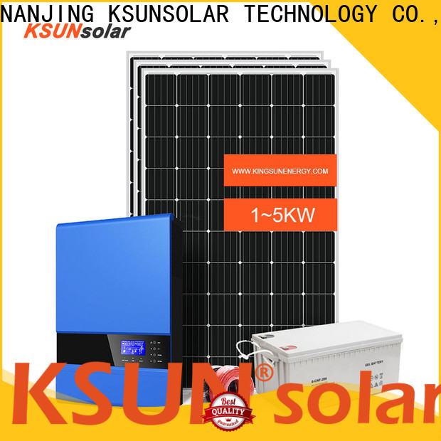 KSUNSOLAR off grid solar energy systems Supply For photovoltaic power generation