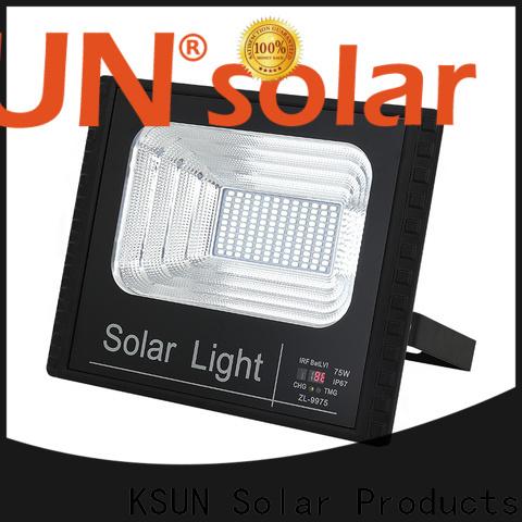 KSUNSOLAR solar powered garden flood lights manufacturers For photovoltaic power generation