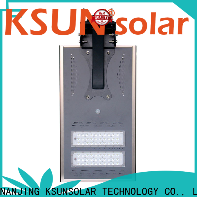 KSUNSOLAR High-quality solar powered outdoor street lights for business for Environmental protection