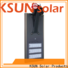 KSUNSOLAR solar street light with panel company for Power generation