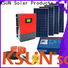 KSUNSOLAR Latest off grid solar power kits manufacturers For photovoltaic power generation