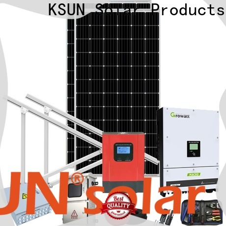 KSUNSOLAR New solar system equipment suppliers Supply For photovoltaic power generation