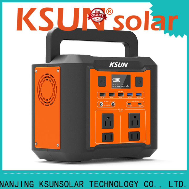 New portable power station with solar for business for powered by
