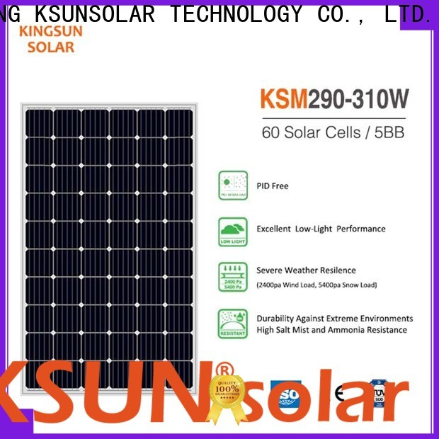 High-quality monocrystalline solar panel manufacturers company for Power generation