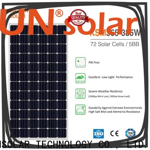 KSUNSOLAR Best best monocrystalline solar panel brands manufacturers for Power generation