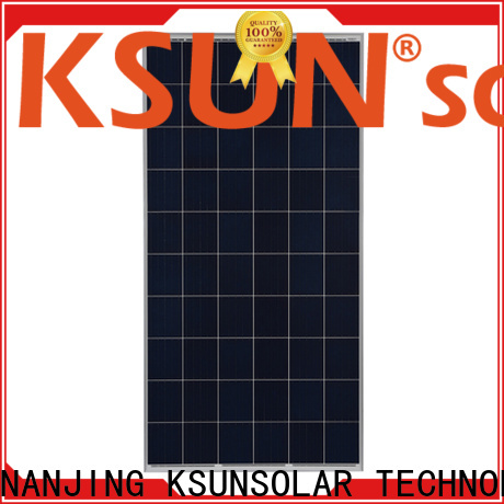 KSUNSOLAR Best poly solar panels for sale manufacturers for Power generation