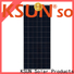 KSUNSOLAR poly solar panels for sale Suppliers for Environmental protection