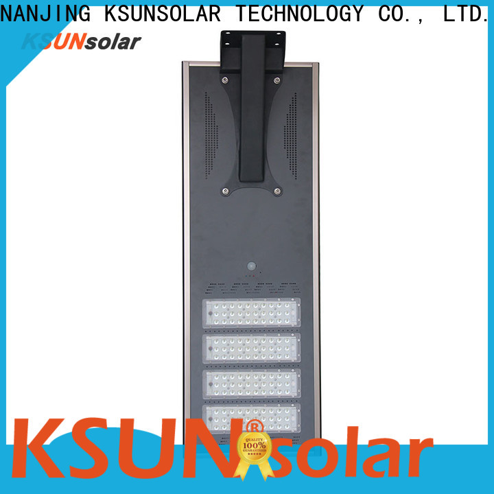 KSUNSOLAR solar powered led lights for business for Environmental protection