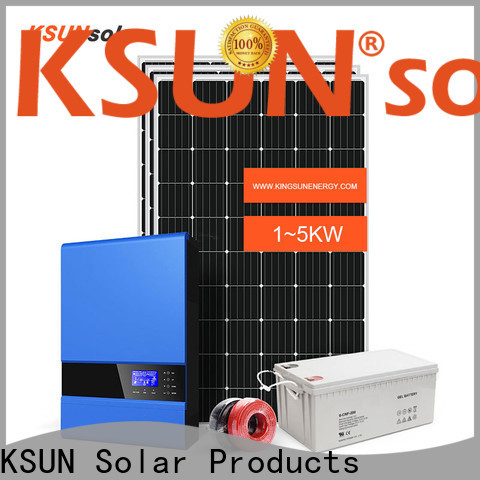 KSUNSOLAR off grid solar panel kits for sale company for powered by