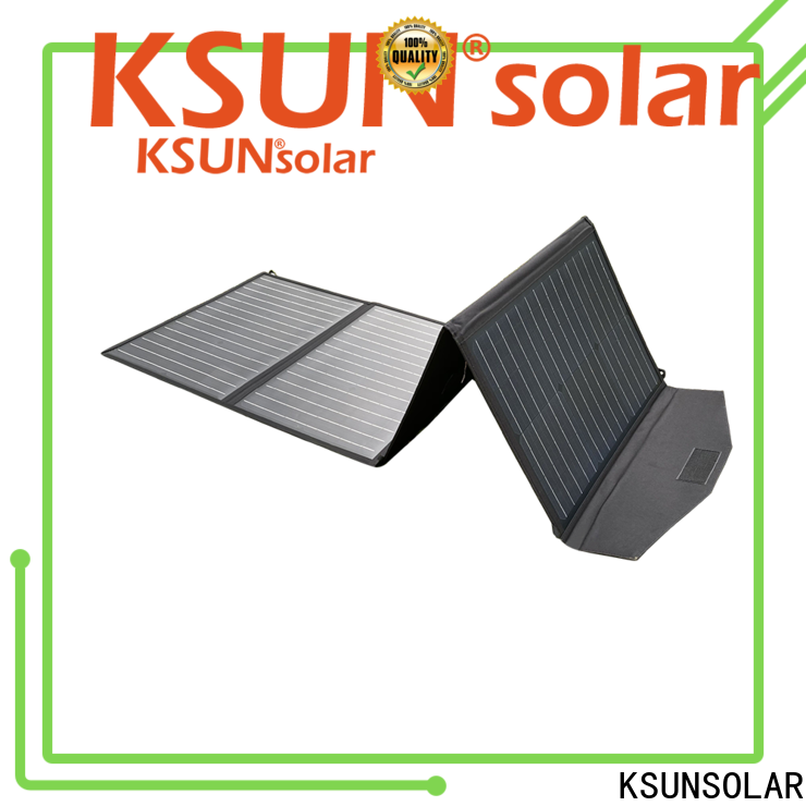 KSUNSOLAR Custom portable folding solar panels manufacturers For photovoltaic power generation