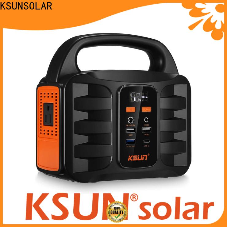 KSUNSOLAR portable power supply unit for business for Power generation