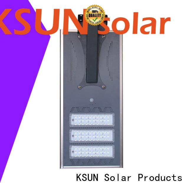 KSUNSOLAR High-quality solar outdoor street lights Supply for Energy saving