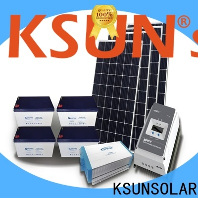 KSUNSOLAR off grid solar system suppliers factory For photovoltaic power generation