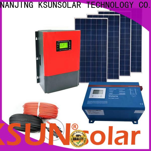 KSUNSOLAR off grid solar panel kits for sale for Energy saving