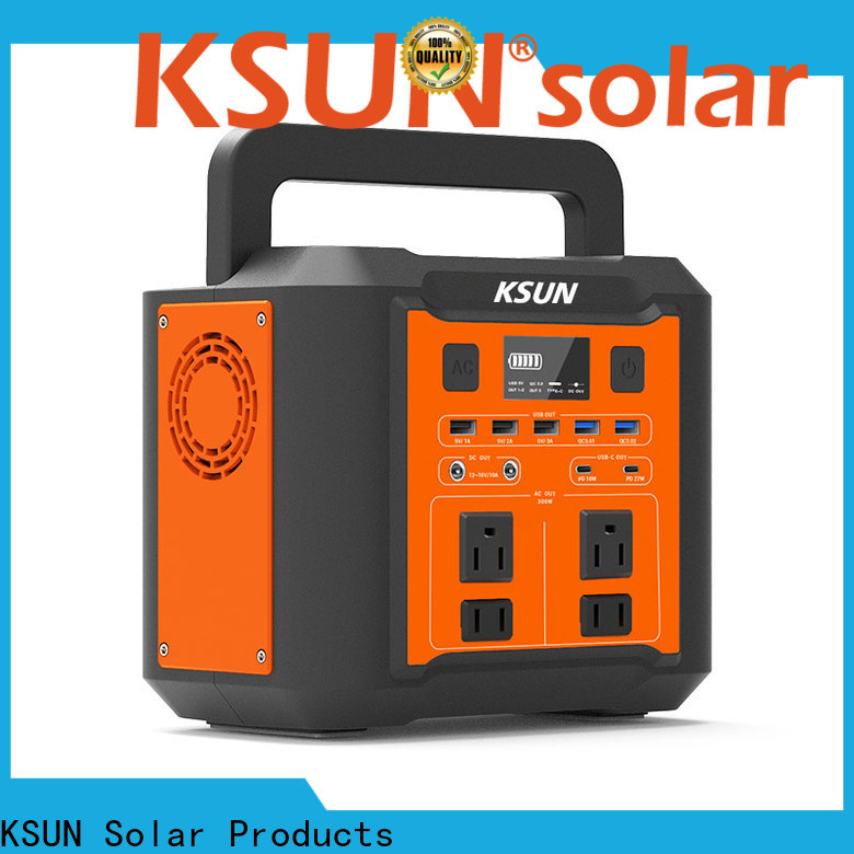 KSUNSOLAR portable power generator factory for powered by