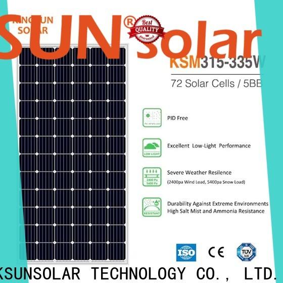 High-quality best monocrystalline solar panels for Energy saving