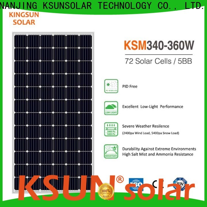 KSUNSOLAR Wholesale mono panels for business for powered by