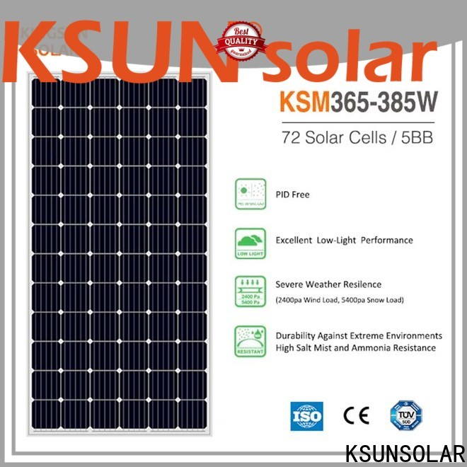 KSUNSOLAR photovoltaic cell factory for Power generation
