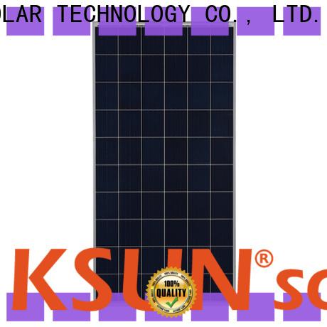 KSUNSOLAR poly panels company for Energy saving