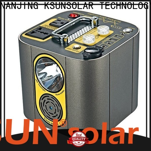 KSUNSOLAR portable power station solar generator manufacturers for Energy saving