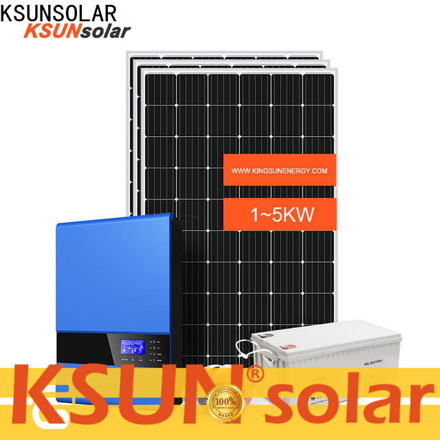 KSUNSOLAR off grid solar systems manufacturers for Power generation