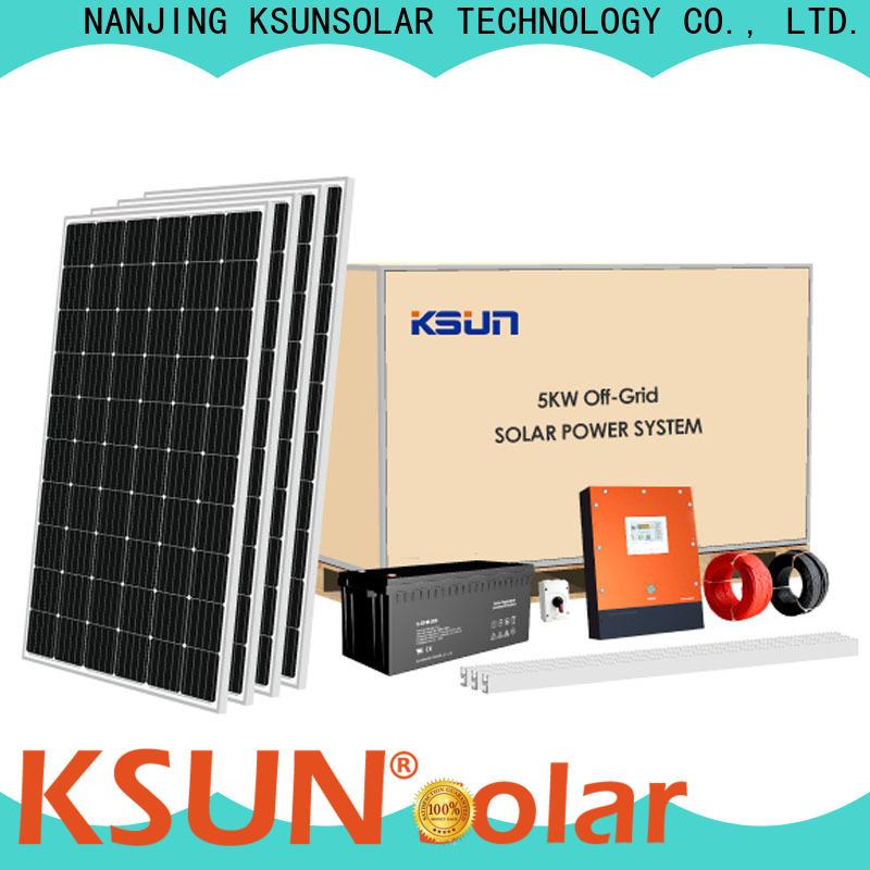 KSUNSOLAR solar power system company For photovoltaic power generation