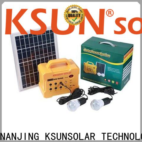 Best portable solar power generator Supply for Energy saving