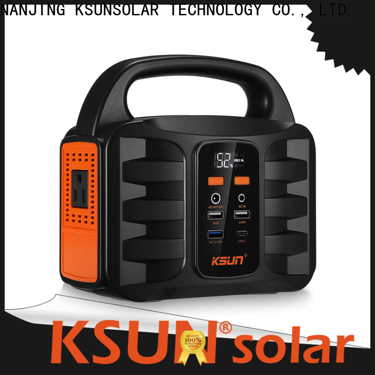 KSUNSOLAR New rechargeable portable power supply company for Environmental protection