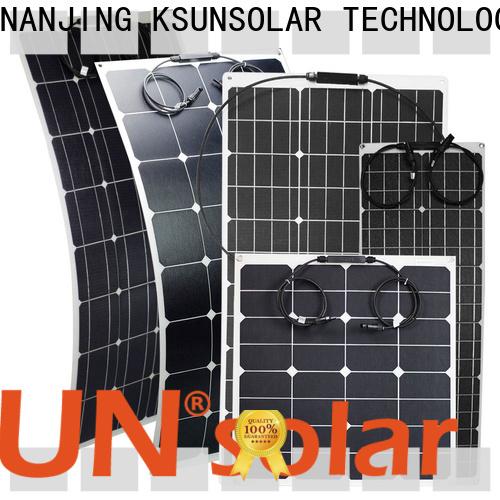 best flexible solar panels company for Power generation