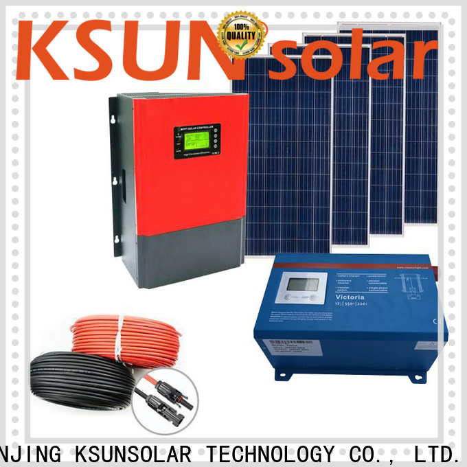 New solar panel power system factory for Power generation